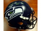 Richard Sherman Autographed Seattle Seahawks Full Size Speed Replica Helmet in Green RS Holo Stock #94450