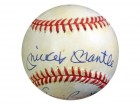 500 HR Club Autographed AL Baseball With 10 Signatures Including Mickey Mantle,Willie Mays & Hank Aaron PSA/DNA #S14445