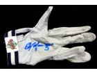 Edgar Martinez Autographed Game Used Franklin Batting Glove with Signed Certificate EM #136