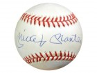 Mickey Mantle Autographed AL Baseball New York Yankees PSA/DNA #U03083