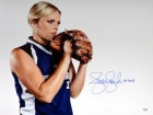 "Jennie Finch Autographed 16x20 Photo Team USA ""04 Gold"" PSA/DNA Stock #63700"
