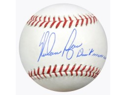 "Nolan Ryan Autographed Official MLB Baseball Texas Rangers ""Don't Mess With Texas!"" PSA/DNA Stock #64811"