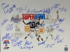 1969 Autographed 16x20 Photo New York Jets With 25 Signatures Including Joe Namath #/69 PSA/DNA Stock #66421