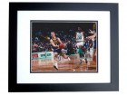 Detlef Schrempf Signed - Autographed 8x10 Indiana Pacers Photo BLACK CUSTOM FRAME