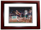 Detlef Schrempf Signed - Autographed 8x10 Indiana Pacers Photo MAHOGANY CUSTOM FRAME - Guaranteed to pass PSA or JSA