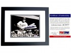 Duke Snider Signed - Autographed Brooklyn Dodgers 8x10 inch Photo BLACK CUSTOM FRAME - PSA/DNA Certificate of Authenticity (COA) - Deceased Hall of Famer