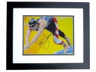 Dara Torres Signed - Autographed Olympic 8x10 inch Photo BLACK CUSTOM FRAME - Guaranteed to pass PSA or JSA
