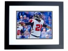 Desmond Trufant Signed - Autographed Atlanta Falcons 8x10 inch Photo BLACK CUSTOM FRAME - Guaranteed to pass PSA or JSA