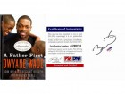 Dwyane Wade Signed - Autographed A FATHER FIRST Hardcover Book with PSA/DNA Certificate of Authenticity (COA)