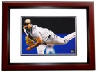 David Wells Signed - Autographed Boston Red Sox 8x10 inch Photo MAHOGANY CUSTOM FRAME - Guaranteed to pass PSA or JSA