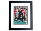 Dave Wilcox Signed - Autographed San Francisco 49ers 8x10 inch Photo with HALL OF FAME Inacription BLACK CUSTOM FRAME - Guaranteed to pass PSA or JSA