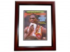 Dominique Wilkins Signed - Autographed Atlanta Hawks 11x14 inch Photo MAHOGANY CUSTOM FRAME with JSA Witnessed Authenticity