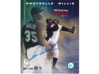 Dontrell Willis Signed - Autographed Florida Marlins 8x10 Photo