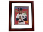 Dave Winfield Signed - Autographed New York Yankees ORIGINAL Sports Illustrated Magazine Cover MAHOGANY CUSTOM FRAME - Guaranteed to pass PSA or JSA