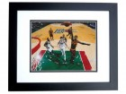 Daniel Gibson Signed - Autographed Cleveland Cavaliers 8x10 inch Photo BLACK CUSTOM FRAME - Guaranteed to pass PSA or JSA