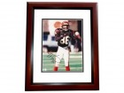 Darney Scott Signed - Autographed Cincinnati Bengals 8x10 inch Photo MAHOGANY CUSTOM FRAME - Guaranteed to pass PSA or JSA