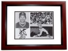 Dave Kingman Signed - Autographed Oakland A's 8x10 inch Photo MAHOGANY CUSTOM FRAME - Guaranteed to pass PSA or JSA