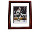 Dave Taylor Signed - Autographed Los Angeles Kings 8x10 inch Photo MAHOGANY CUSTOM FRAME - Guaranteed to pass PSA or JSA