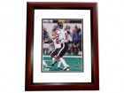 David Carr Signed - Autographed Houston Texans 8x10 inch Photo MAHOGANY CUSTOM FRAME - Guaranteed to pass PSA or JSA