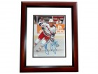 Dean Turcotte Signed - Autographed New York Rangers 8x10 inch Photo MAHOGANY CUSTOM FRAME - Guaranteed to pass PSA or JSA