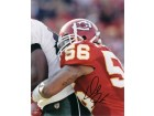 Derrick Johnson Autographed Kansas City Chiefs 8x10 Photo