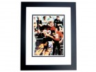 Doug Flutie Signed - Autographed Boston College 8x10 inch Photo - Heisman Winner BLACK CUSTOM FRAME - Guaranteed to pass PSA or JSA