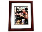 Doug Flutie Signed - Autographed Boston College 8x10 inch Photo - Heisman Winner MAHOGANY CUSTOM FRAME - Guaranteed to pass PSA or JSA