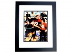 Doug Flutie Signed - Autographed Boston College 8x10 inch Photo BLACK CUSTOM FRAME - Guaranteed to pass PSA or JSA - Heisman Trophy Winner