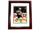 Doug Gilmour Signed - Autographed New Jersey Devils 8x10 Photo MAHOGANY CUSTOM FRAME