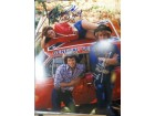 Dukes of Hazzard (Catherine Bach / Tom Wopat / John Schneider) Signed 11x14 Photo By Catherine Bach, Tom Wopat and John Schneider