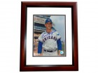 Ernie Broglio Signed - Autographed Chicago Cubs 8x10 inch Photo MAHOGANY CUSTOM FRAME - Guaranteed to pass PSA or JSA
