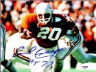 Earl Campbell Signed - Autographed Texas Longhorns UT 8x10 inch Photo with Hall of Fame 1991 Inscription - PSA/DNA Certificate of Authenticity (COA)