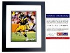Eric Dickerson Signed - Autographed Los Angeles Rams 8x10 inch Photo BLACK CUSTOM FRAME - PSA/DNA Certificate of Authenticity (COA)