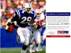 Eric Dickerson Signed - Autographed Indianapolis Colts 8x10 inch Photo - PSA/DNA Certificate of Authenticity (COA)