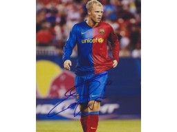 Eiour Gudjohnsen Signed - Autographed FC Barcelona 8x10 inch Photo - Guaranteed to pass PSA or JSA
