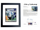 Emmittt Smith Signed - Autographed Dallas Cowboys Sports Illustrated Cover BLACK CUSTOM FRAME - PSA/DNA FULL Letter of Authenticity (LOA)