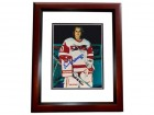 Erin Whitten Signed - Autographed Storm 8x10 inch Photo MAHOGANY CUSTOM FRAME - Guaranteed to pass PSA or JSA - Female Goalie