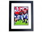 Eddie George Signed - Autographed Ohio State Buckeyes 8x10 inch Photo BLACK CUSTOM FRAME - Guaranteed to pass PSA or JSA - 1995 Heisman Trophy Winner