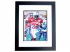 Edgerrin James Signed - Autographed Indianapolis Colts 8x10 RARE Pro Bowl Photo BLACK CUSTOM FRAME - Guaranteed to pass PSA or JSA