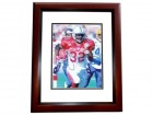Edgerrin James Signed - Autographed Indianapolis Colts 8x10 RARE Pro Bowl Photo MAHOGANY CUSTOM FRAME - Guaranteed to pass PSA or JSA