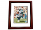 Edgerrin James Signed - Autographed Indianapolis Colts 8x10 inch Photo MAHOGANY CUSTOM FRAME - Guaranteed to pass PSA or JSA