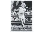 Chris Evert Signed 5x7 B&W Promo Photo (Personalized - To Brian)
