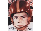 Frank Gifford Signed - Autographed USC Trojans 8x10 Photo with FIGHT ON inscription and JSA Authenticity