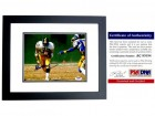 Franco Harris Signed - Autographed Pittsburgh Steelers 8x10 inch Photo BLACK CUSTOM FRAME - PSA/DNA Certificate of Authenticity (COA)