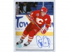 Theo Fleury Calgary Flames Signed 8X10 Action Photo