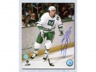 Ron Francis Hartford Whalers Signed 16X20 Captain Photo