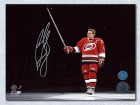 Ron Francis Carolina Hurricanes Signed 16X30 Jersey Retirement Photo