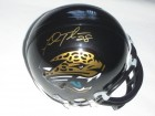 Fred Taylor Signed - Autographed Jacksonville Jaguars Mini Helmet (Gold Autograph) - Guaranteed to pass PSA or JSA
