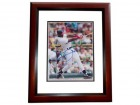 Frank Thomas Signed - Autographed Chicago White Sox 8x10 inch Photo MAHOGANY CUSTOM FRAME - 2014 Hall of Fame Inductee - Guaranteed to pass PSA or JSA