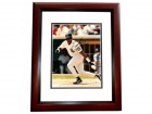 Frank Thomas Signed - Autographed Chicago White Sox 8x10 inch Photo MAHOGANY CUSTOM FRAME
